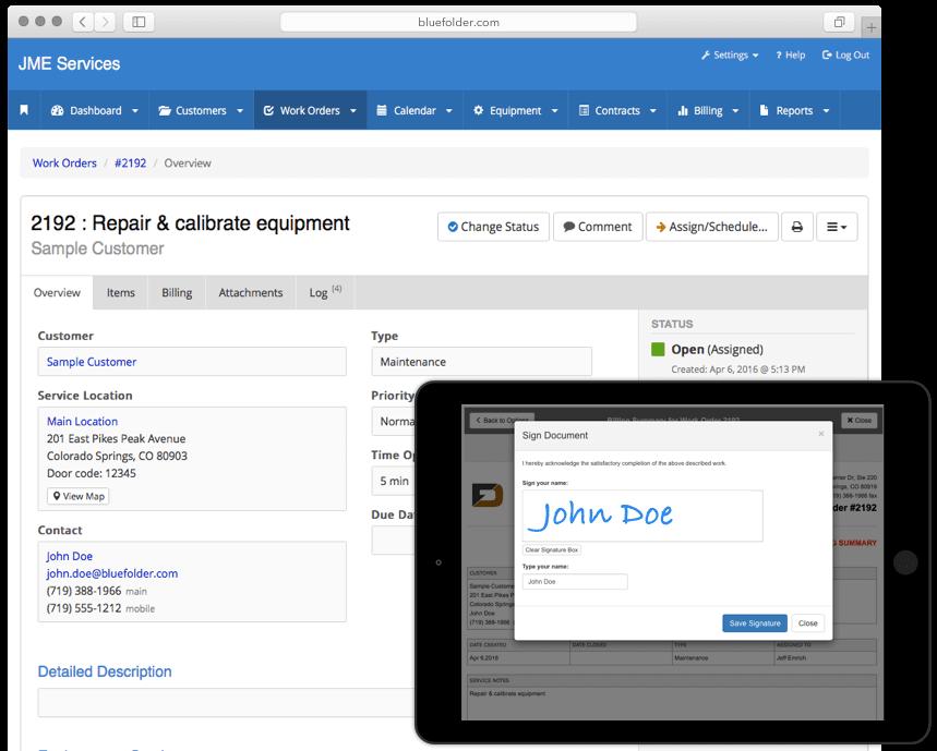 Field Service Management | BlueFolder Field Service Software